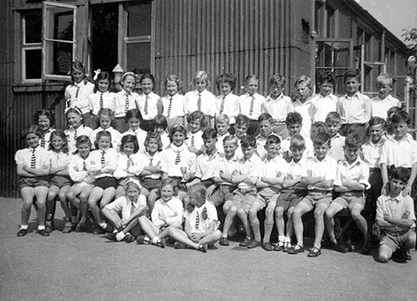 1945 Primary sports day - Banstead