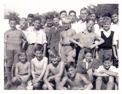 Beechholme boys in the 1940's