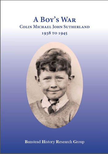 A Boy's War Colin Sutherland