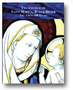 St Mary's Church Burgh Heath- publication by BHRG