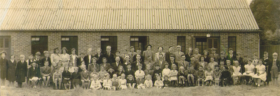 Banstead Congregational now URC Jul 1953. Picture Courtesy of Philip Smith 2009