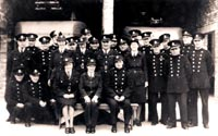 Fire Station staff at Banstead