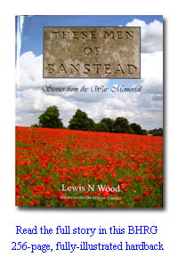 These Men of Banstead – Stories from the War Memorial