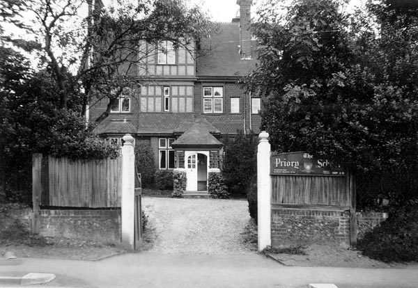 The Priory in 1938