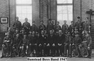 Beechholme Boys Brass band 1947