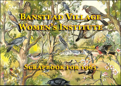 Banstead Womens Institute scrapbook 1965