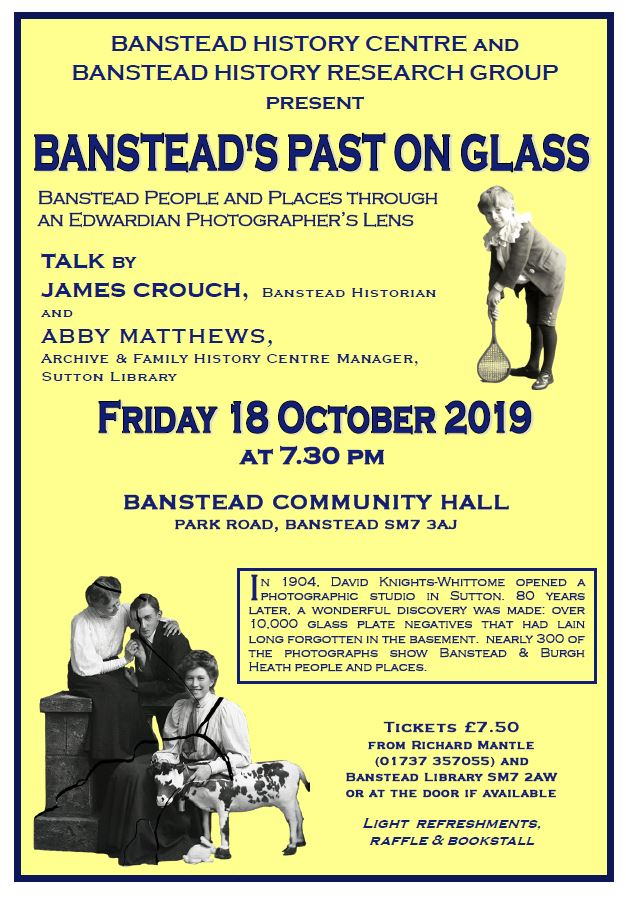 Banstead's Past on glass
