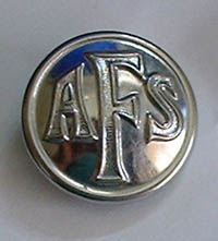 AFS button courtesy of Margaret Dickens
