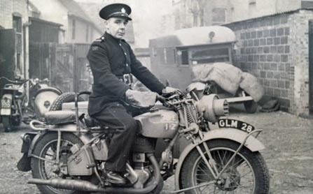 George King Firefighter/Despatch Rider
