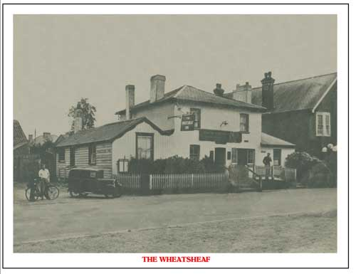 The Wheatsheaf picture restored