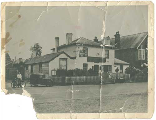 The Wheatsheaf picture-stained and torn